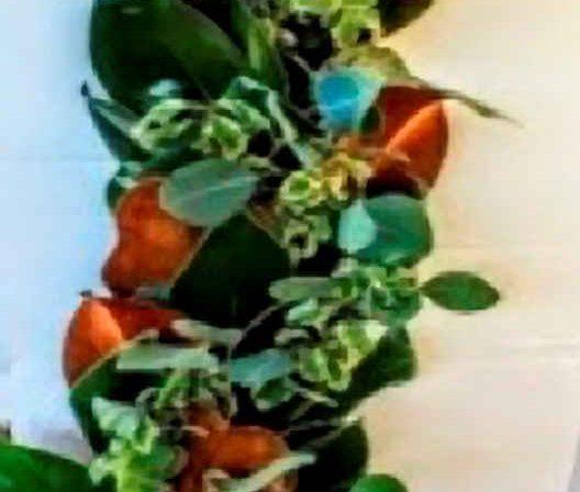 Magnolia Breeze Garland