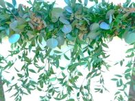 Silver Mix Hanging Garland